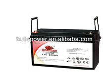 sealed lead acid battery 12V120AH GEL Battery for ups