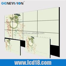 "60"" original panel high quality narrow bezel lcd video wall,big advertising display lcd screen"