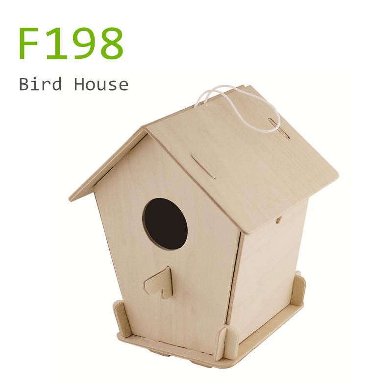 Wholesale Bird Toys : Wholesale wooden bird house kit toys