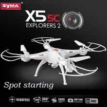 Syma x5c Upgrade Syma x5sc 2.4G 4CH 6-Axis Professional aerial RC Helicopter Quadcopter Drone With 2MP Camera