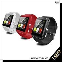 2015 Metal,silicon,plastic Material android smart watch u8,new trend wrist watch,wrist watch lighter