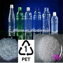 El suministro de reciclado de botellas de pet de desecho/escamas del animal doméstico con buen precio