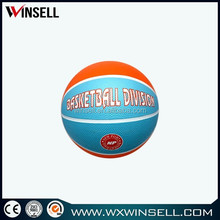 customized 12 panel mini rubber basketball