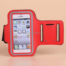 Wholesale excellent quality neoprene cell phone bags sports mobile phone arm pouch waterproof bags