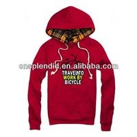 100% Cotton embossed oem bench hoodie