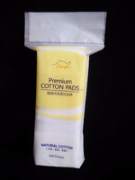 JIEYA cosmetic tools cotton pad for daily cleaning 100pcs