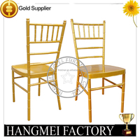 FOSHAN FACTORY Quality cutting circle steel Wedding Chiavari Chair