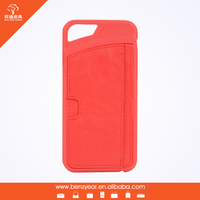 Benz PU leather smart phone case cover