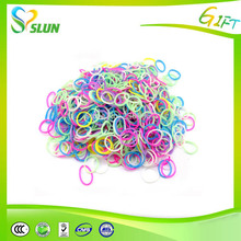 Most popular funny charm DIY silicone rubber loom bands for weave bracelets