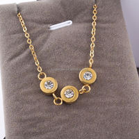 Hot Item New Arrival Jewelry unique rhinestone naughty dog necklace