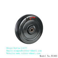 Esd conductive rubber wheel for power electrical equipment