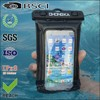 customized style and color pvc waterproof mobile pouch with arm band