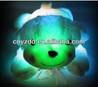flashing plush toy/flashing stuffed toy/flashing soft toy with LED lights