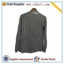 100% cashmere front printing women's fleece sweater set for student