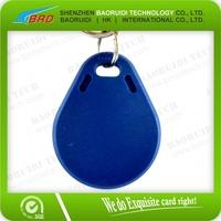Plastic 13.56Mhz RFID Key Chain Access Control