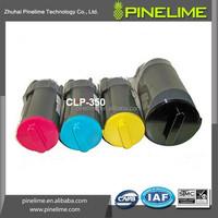 CLP350A color toner cartridge, for samsung color toner, compatible CLP 350 toner printer