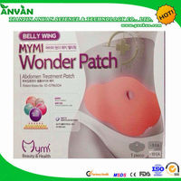 2014 hot product belly MYMI wonder patch slim patch
