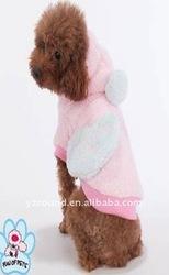 100% cotton pet plush cloths w/pocket