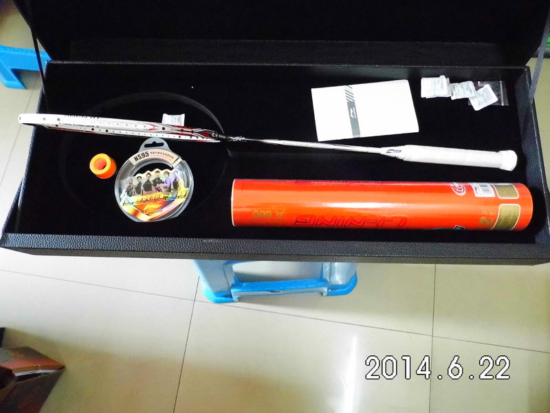 Li ning badminton racket 2014