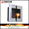 Top quality cheap wall mounted bioethanol fireplace