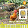 portable chicken electric fence charger for 3 acres farm ranch