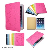 Kaku professional pu leather for apple ipad 2 3 4 smart case