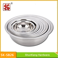 New Product 20-50cm Stainless Steel Foot Basin /Small size wash basin / Small Wash Basin