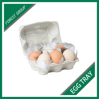 BEAUTIFUL DESIGN 6 PACK CELL EGGS PAPER PACKING TRAYS FOR SALE