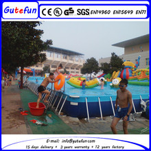 best service large cheap lake swimming pool portable with outdoor toys