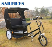 JX-T02 taxi bike pedicab electric rickshaw tricycle