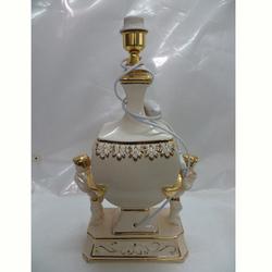 EF550 Gold Hand Painted Chinese luxury edecorative ceramic modern room floor lamp