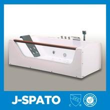 2015 Superficie sólida de tamaño personalizado JS-8007 bañeras