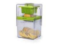 Easy and Convenient Kitchen Utensil Plastic Vegetable and Fruit Slicer, Tower Slicer for Salad