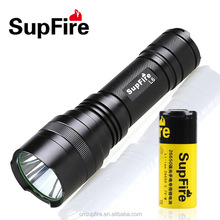 1100lm long lamp life portable IP67 rechargeable LED flashlight L6-T6