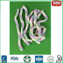 Bulk Long Twist Marshmallow Candy Mix Color Marshmallow