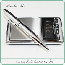 2015 Executive silver metal promotional laser engraved metal pen