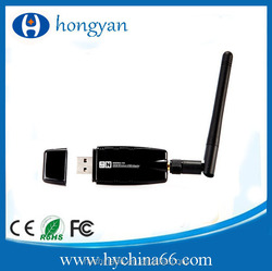 Mini 300Mbps Wireless USB WiFi Wi Fi Wi-Fi Network Adapter 2.4GHz ISM with External Antenna Networking 802.11n/g/b
