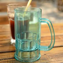 380ml AS transparent plastic beer mug
