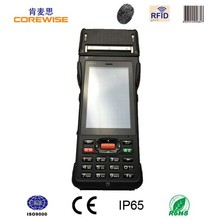 android 3g wifi tablet mini all in one handheld wireless nfc thermal pos printer