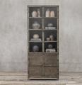 francés reproducción de metal industrial de muebles de madera