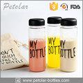 Exterior útil deporte de agua de plástico botella 500ml, portátil