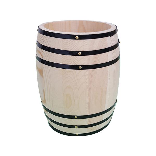 wooden coffee barrels