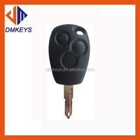 Car key blank ne72 3button remote key shell for Renault/Factory price For Renault Auto Key