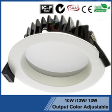 SAA approval led downlight 3inch dimmable replace ment New Zealand standard glass display cabinet halogen