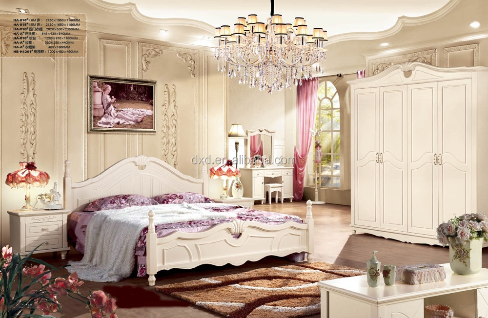 Bed Bedroom Furniture Classic And French Style Bed French Style White Bedroom