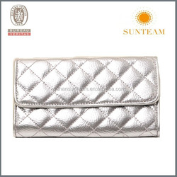 hot sells silver branded wallet
