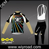 Accept sample order cycling clothing pro/long sleeve cycling uniform/cycling thermal wear team