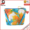 Flower full printing Cosmetic Bag Wristlet Lovely Bag