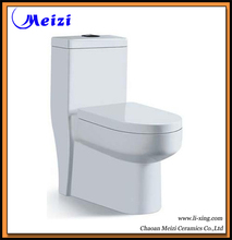 Cuarto de baño de una sola pieza inodoro siphoic