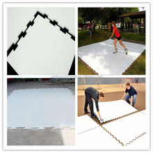 HDPE synthetic ice hockey shooting rink, ice puck shooting sheets